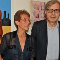 Alla Milano Art Gallery di Venezia le opere di Anna Somensari esposte per una mostra presentata da Vittorio Sgarbi