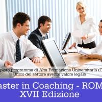 Corso di Alta Formazione Universitaria in Coaching a Roma - XVII Edizione