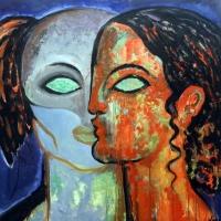 """L'arte della poliedrica Amanda Lear in mostra nell'attesissima  """"Spoleto Arte"""" a cura di Vittorio Sgarbi"""