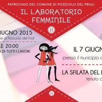 Sfilata del laboratorio femminile tenuto da Maria Luisa Picech