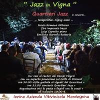 Jazz in vigna con Mario Romano Quartieri Jazz all'Azienda Vitivinicola Montespina