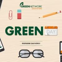 Green Day: torna l'iniziativa di Green Network Luce & Gas dedicata al risparmio
