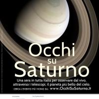 Tutta Italia con gli Occhi Su Saturno il 20 Giugno 2015