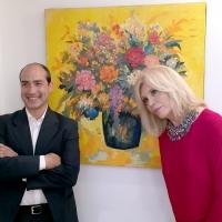Intervista al dott. Renato Magistro, Leima Edizioni, editore del catalogo della mostra di Amanda Lear