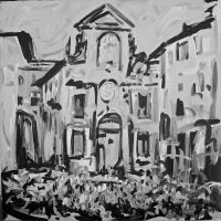 """Alfonso Mangone alla mostra """"Spoleto Arte"""" a cura di Vittorio Sgarbi"""