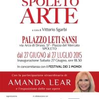 """""""Spoleto Arte"""": opere di Gabriella Ventavoli nel scenario della mostra a cura di Vittorio Sgarbi"""