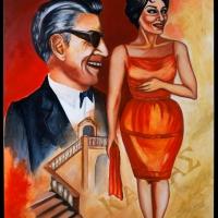 """""""Spoleto Arte"""": la pittura di Anna Sticco  esposta alla grande mostra """"Spoleto Arte"""" curata da Vittorio Sgarbi"""