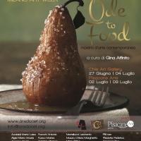 Ode to food: gemellaggio tra cibo ed arte contemporanea