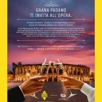 """Concorso """"Grana Padano ti invita all'Opera"""""""