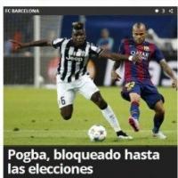"""fsgus NEWS: Juventus: Il Barcellona """"blocca"""" Pogba"""