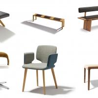 Sedute TEAM 7:  il lato comodo del legno naturale