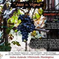 In vigna tra musica ed enogastronomia con Mario Romano Quartieri Jazz