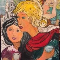A Spoleto Arte l'esposizione pittorica di Stefania Buccio Gonzato