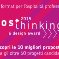 HOSThinking a design award: selezionate le 10 migliori proposte tra più di 60 progetti candidati