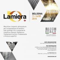 Faster realizza la creatività per l'edizione 2016 di Lamiera, fiera internazionale promossa da UCIMU-SISTEMI PER PRODURRE