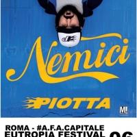 #A.F.A. Capitale Piotta dal vivo a Eutropia, nuova tappa del Nemici Tour assieme a Il Muro del Canto e Bestie Rare