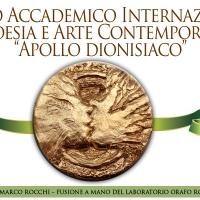 """Poesia in teatro ed Arte in mostra. Sensi in festa al Premio Internazionale """"Apollo dionisiaco"""" Roma 2015"""