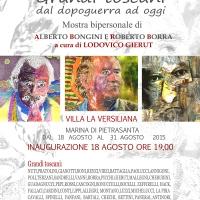 Grandi toscani dal dopoguerra ad oggi-Mostra bipersonale di Roberto Borra ed Alberto Bongini a cura del critico d'arte Lodovico Gierut