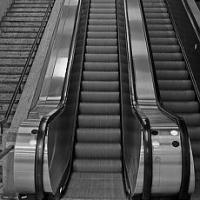 Le scale mobili: la stazione di Bologna