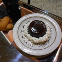 Gelo di caffè con cuore di biscotti secchi