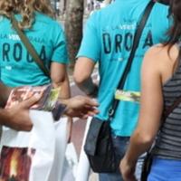 Campagna informativa sulla droga dei volontari del Celebrity Centre della Città di Firenze, Chiesa di Scientology