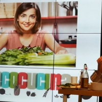 Gli Ambassador di Expo Milano 2015 Marco Bianchi e Lisa Casali: show cooking e approfondimenti nell'evento targato Goglio sulla corretta conservazione degli alimenti