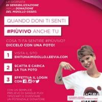 #piùvivo: ADMO con Leevia per sostenere la donazione di midollo osseo