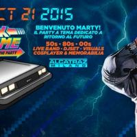 Mercoledì 21 Ottobre 2015  BACK IN TIME PARTY: UNA GRANDE FESTA A TEMA DEDICATA AL CELEBERRIMO FILM SBARCA ALL'ALCATRAZ DI MILANO NEL GIORNO ESATTO DEL RITORNO AL FUTURO DEI SUOI PROTAGONISTI  H 21.30 – Alcatraz, via Val