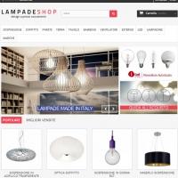 Ecommerce Lampade Shop - Vendita lampade e materiale illuminazione
