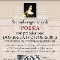 La premiazione della seconda ragunanza di poesia a Villa Pamphilj