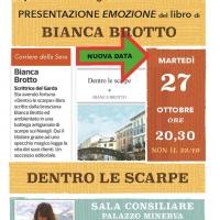 Bianca Brotto presenta Dentro le scarpe - Edizioni Psiconline - a Manerba del Garda