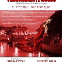 Tragicamente rosso in scena al Teatro Tordinona