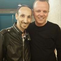 Luca Maris e il suo incontro con Gigi D'Alessio a Lugano