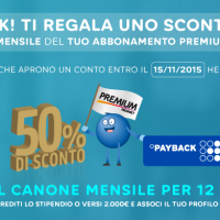 Hello Bank! Regala Mediaset Premium
