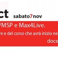 Open Day Max/MSP e Max 4 Live - presentazione gratuita corso e software alla Music Instinct presso stazione metro Napoli Mergellina II Piano