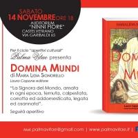 Domina Mundi di Maria Lidia Signorello, presentazione a Castelvetrano (TP) il 14 novembre alle 18:00