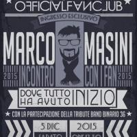Marco Masini incontra a Roma i suoi fan: presenta l'amico Pino Insegno