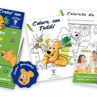 L'orsetto Teddi di Fattoria Scaldasole nelle sale d'attesa dei pediatri italiani per insegnare, divertire, far crescere