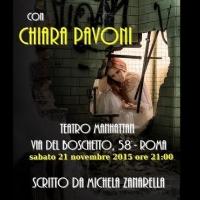 """""""Io che ho vissuto l'inferno"""" con Chiara Pavoni in gara al Premio Ecce Dominae 4^ Ed."""