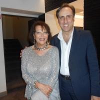 Antonello De Pierro omaggia Claudia Cardinale a Roma