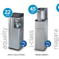 Ad ogni luogo di lavoro il suo erogatore d'acqua a rete idrica: meno sprechi e acqua illimitata