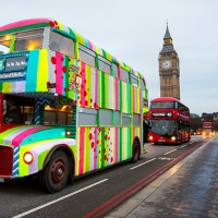 London Bus a Roma