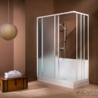 Easy Doccia Vascapoint: da vasca a comodo box doccia in un solo giorno senza opere murarie