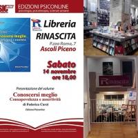Federica Curzi e l'assertività alla Libreria Rinascita di Ascoli Piceno