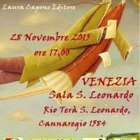 Premio Nazionale Letteratura Italiana Contemporanea 2015, si inaugura a Venezia il ciclo di presentazioni - 28 novembre ore 17