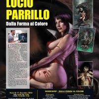 LUCIO PARRILLO - Dalla forma al colore