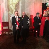 A Milano Danilo Gigante diventa Cavaliere di Malta OSJ