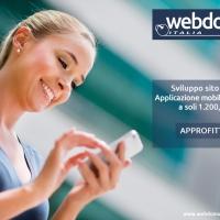 Nuova offerta WebDomus per creare sito web e app mobile in un solo pacchetto