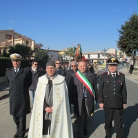 MARIGLIANELLA LA COMUNITA' PARROCCHIALE IN PROCESSIONE PER IL SANTO PATRONO GIOVANNI EVANGELISTA