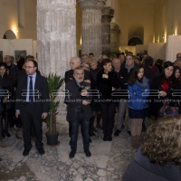 GRANDE SUCCESSO A SALERNO PER IL VERNISSAGE DELL'EXPO D'ARTE CONTEMPORANEA LUCI IN AVALON  E PER IL PREMIO NOLAVA AL MAESTRO VIRGINIO QUARTA